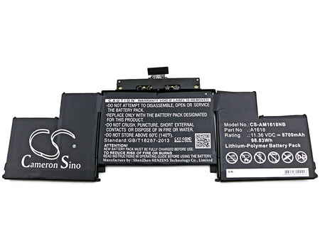 "Apple MacBook Pro 15"" A1398 Retina 2 Replacement Battery"