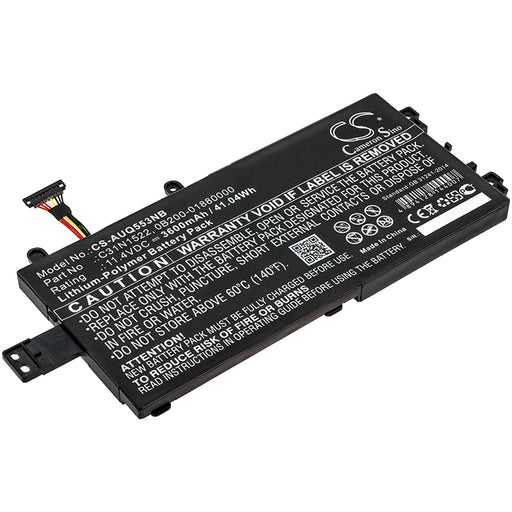 Asus Q553U Q553UB-BSI7T13 Replacement Battery