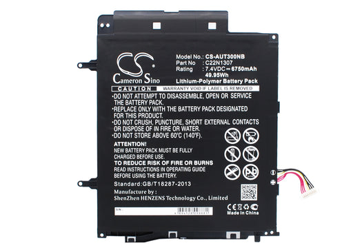 Asus Transformer Book T300 Transformer Book T300L Transforme Batteries CS-AUT300NB $78.48