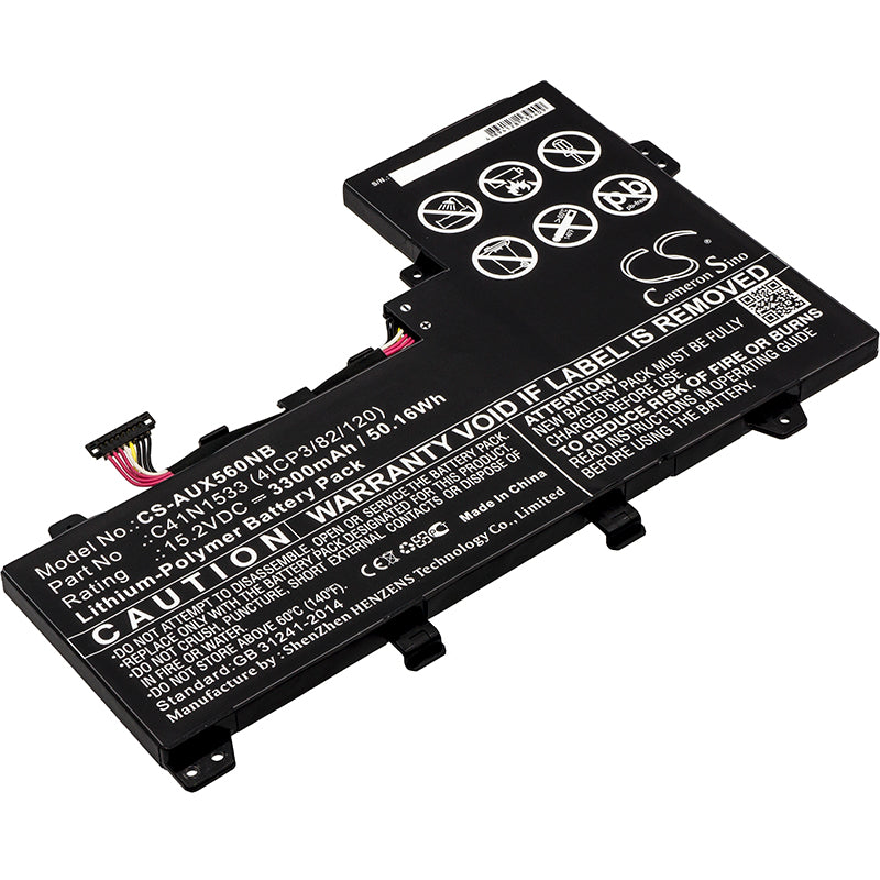 Asus Q524U Q524UQ-BBI7T14 Q534U Replacement Battery