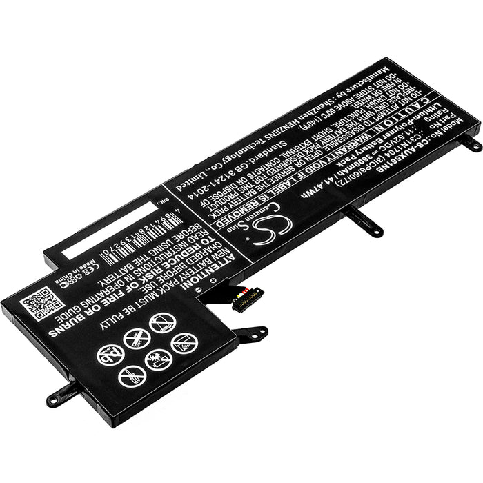 Asus Q535U Q535UD Q535UD-BI7T11 Replacement Battery