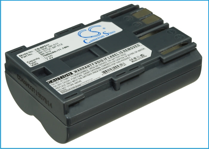 Canon DM-MV100X DM-MV100Xi DM-MV30 DM-MV400 DM-MV430 D 1500mAh Battery CS-BP511 $16.50