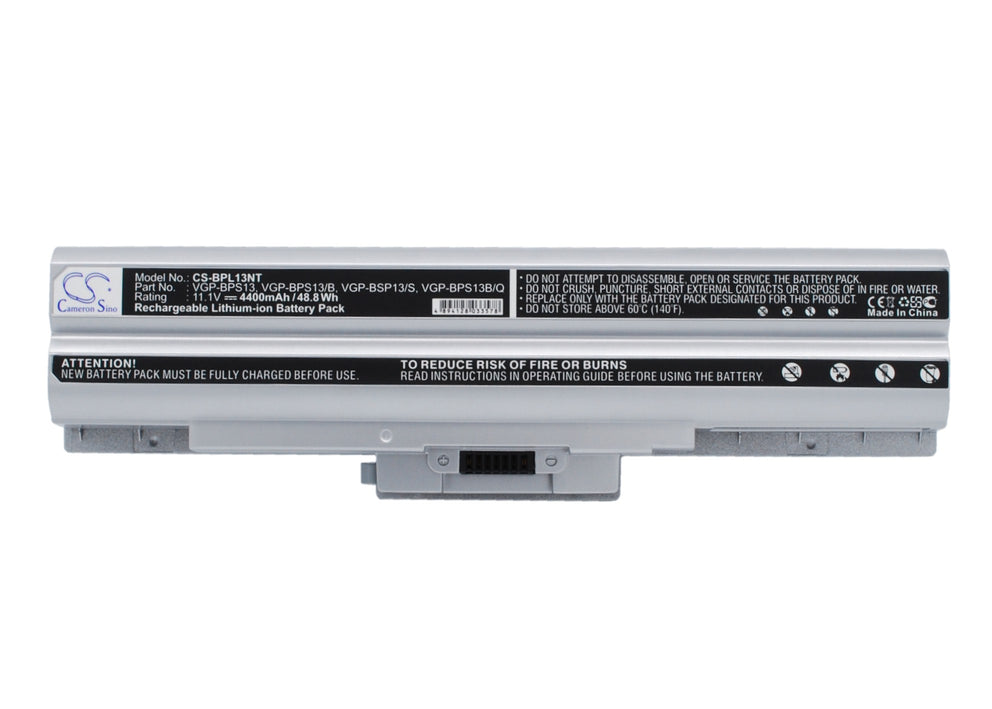 Sony VAIO VAIO TX37CP/L VAIO VGN-AW230J/H 4400mAh Replacement Battery