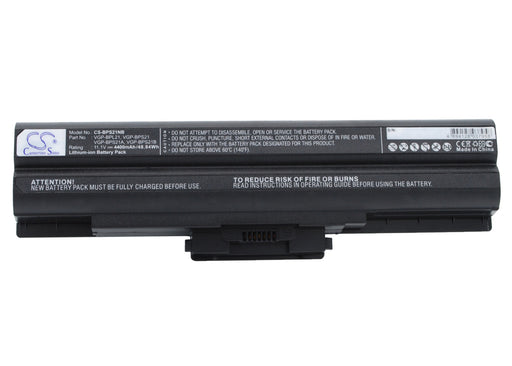 Sony AIO VPCF11JFX/B VAIO VPCF11M1E Black 4400mAh Replacement Battery