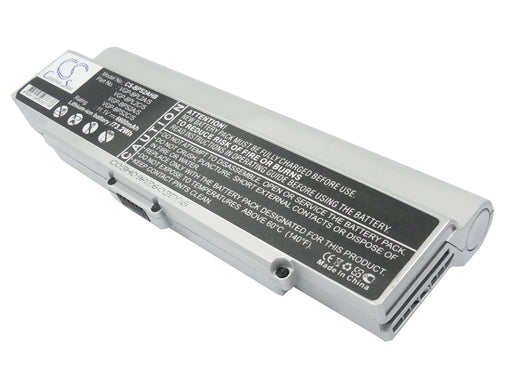 Sony VAIO VGN-C140G/B VAIO VGN-C150P/B VAI 6600mAh Replacement Battery