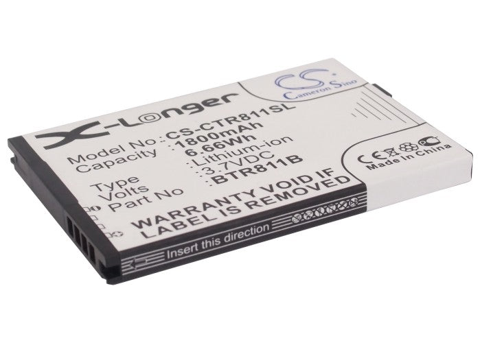 Casio Commando 2 Commando 4G LTE C811 Battery CS-CTR811SL $14.40