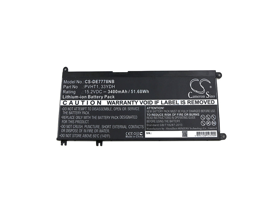 DELL DNCWSCB6106B I7778-0026GRY Inspiron 17 7000 I Replacement Battery