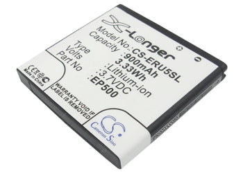 Sony Ericsson E15 E15i E16 E16I Kanna Kurar 900mAh Replacement Battery
