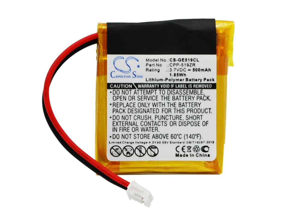 GE 2-5110 5-2682 5-2707 2-5110 5-2682 Battery