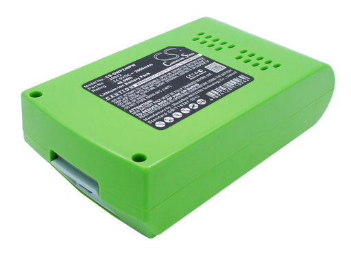GreenWorks 10-Inch Cordless Chainsaw 2036 2000mAh Replacement Battery