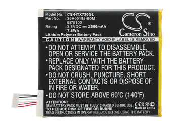 Sprint APX325CWH EVO 4G LTE Replacement Battery