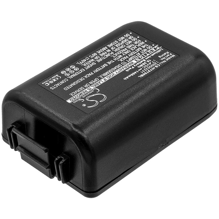 Honeywell 9700 9700-BTEC 9700-BTEC-1 9700LP0003Q12E 9700LPWG Replacement Battery