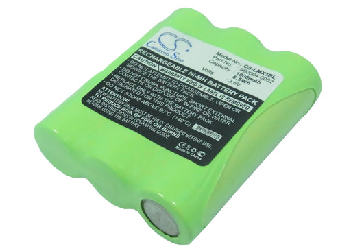 Datalogic 5-2043 5-2352 5-2389 EBS-16NMH FALCON 2M Replacement Battery