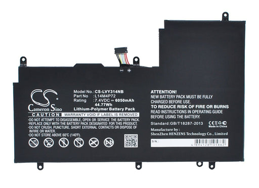 Lenovo Yoga 3 14 Replacement Battery