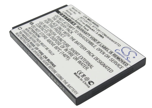 Mobistel EL600 EL600 Dual Replacement Battery