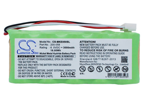 GE Magna-Mike 8500 Replacement Battery