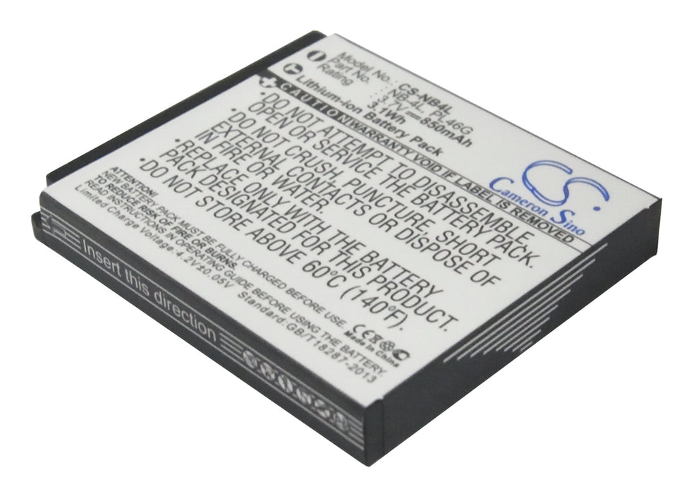 Canon Digital IXUS 100 IS Digital IXUS 110 IS Digital IXUS 1 Battery CS-NB4L $8.19