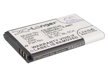 Olympia Viva 1 viva 2 1200mAh Replacement Battery