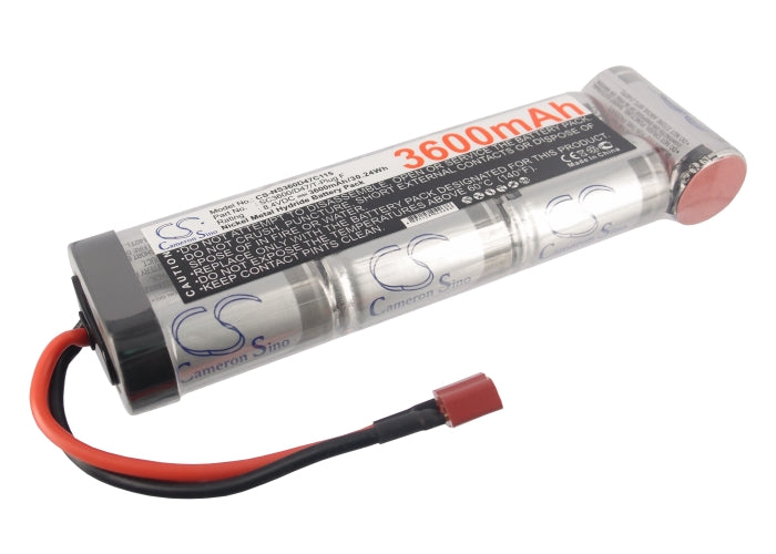 Replacement NiMH Battery - 8.4V 3600mAh - T-Plug Female