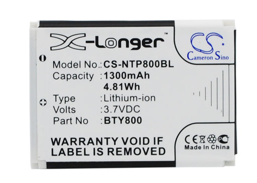 CipherLab 8000 8200 8300 CPT-8300 Replacement Battery
