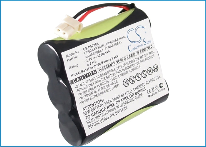 AASTRA TELECOM MAESTRO 900DSSAMERIPHONE CL40AUDIOVOX BT2 Battery CS-P502CL $11.34
