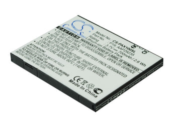Panasonic P-01A P-02A P-03A P-07A P-08A P-09A P-10 Replacement Battery