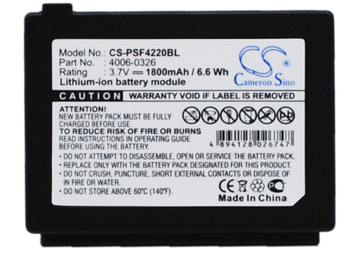 Datalogic 4220 C45 Falcon 4220 Falcon 4223 Replacement Battery