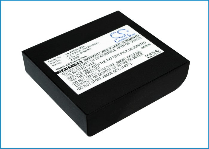 Panasonic WX-C1020 WX-C920 PB-900I 900mAh Battery