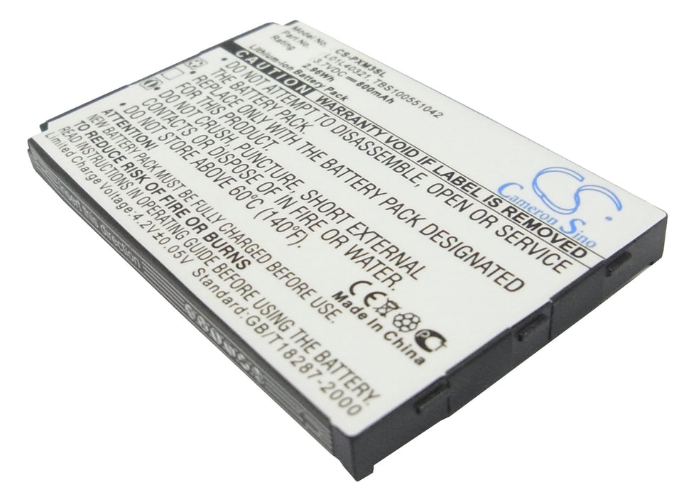 Pioneer GEX-XMP3 XMP3H1 XMP3i Replacement Battery