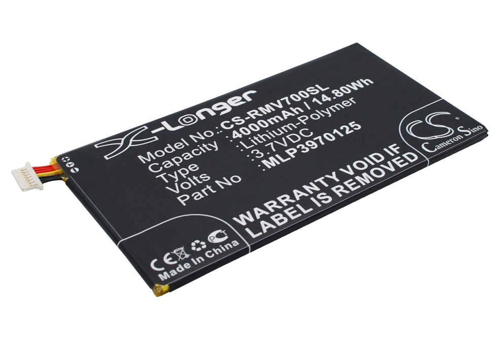 Verizon Elipsis QMV7A 7in Elipsis QMV7B Ellipsis M Replacement Battery