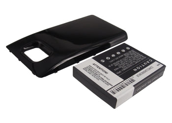 Samsung Galaxy S II Galaxy S2 GT-I91 Black 2600mAh Replacement Battery
