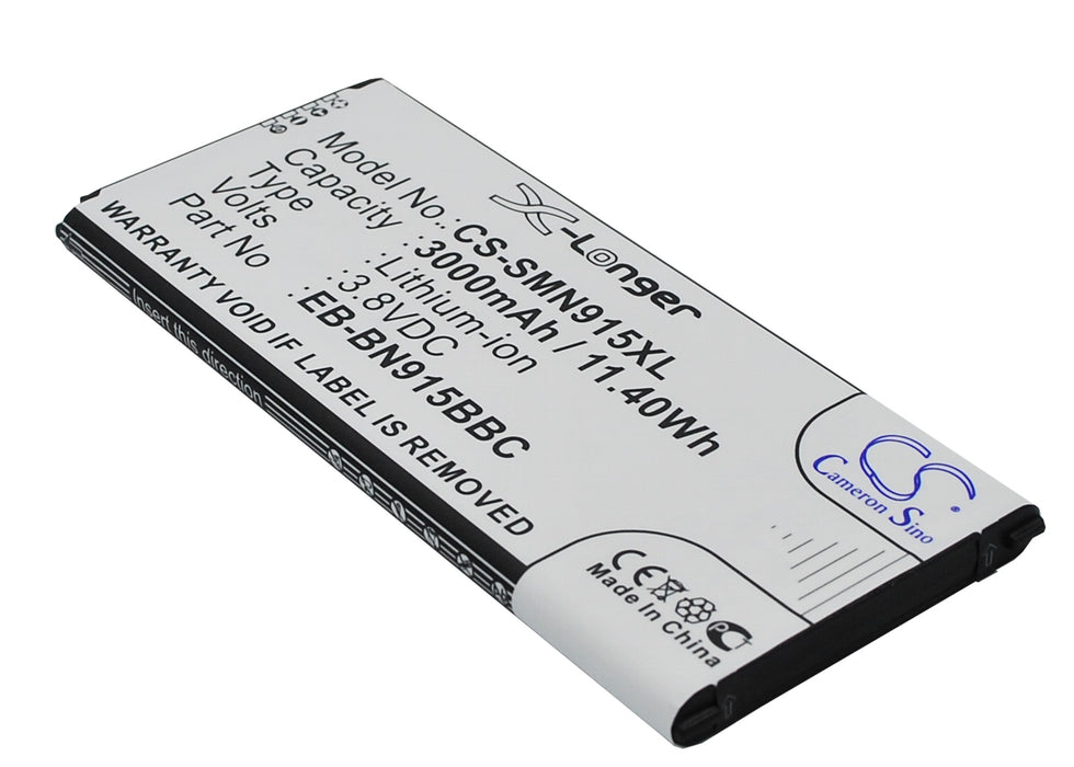 Samsung Galaxy Note Edge Note Edge 4 Black 3000mAh Replacement Battery