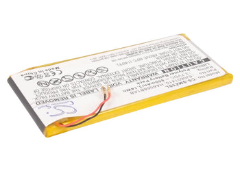 Samsung SEC-YP5Z YP-Z5A YP-Z5AB YP-Z5AS YP-Z5F YP- Replacement Battery