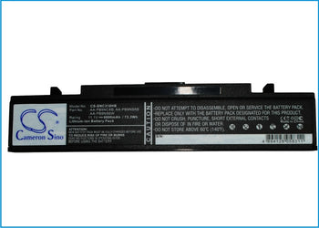 Samsung NP-540-JS03AU NP-NP-R540 NP- Black 6600mAh Replacement Battery