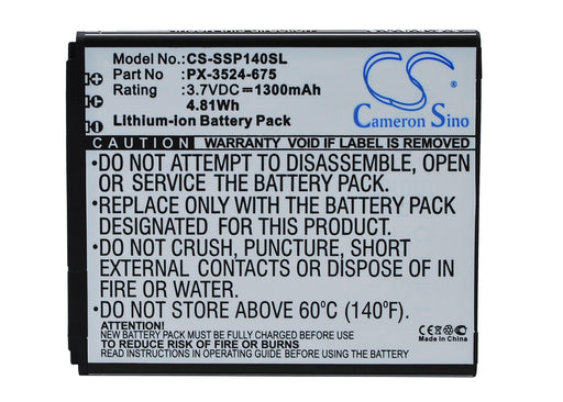 Simvalley SingleCore SP-140 Replacement Battery