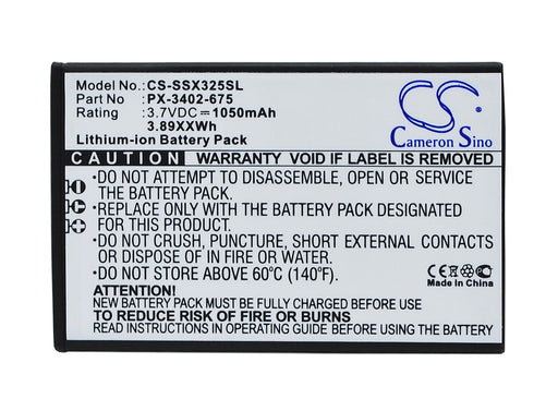 Simvalley SX-325 Replacement Battery