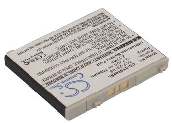 Sanyo KATANA 6600 SCP-6600 Replacement Battery