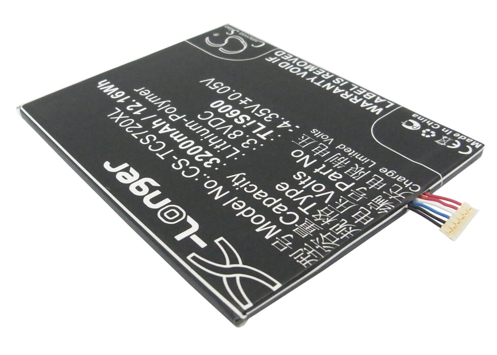 TCL S720T S725T Replacement Battery