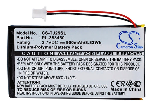 Sony Clie PEG-TJ25 Clie PEG-TJ35 Replacement Battery