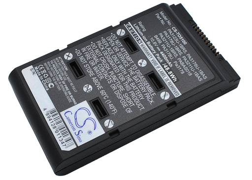 Toshiba Portege A100 Satellite 5000 Satellite 5005 Replacement Battery