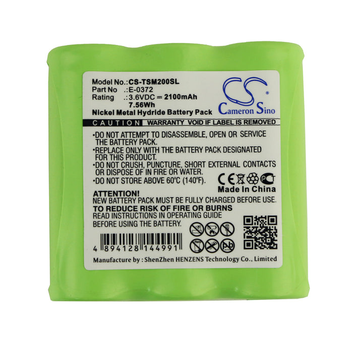TELETRONIC P-0372 TSM 2002 TSM2002 Replacement Battery