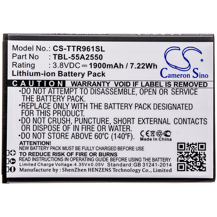 TP-Link M7350 TL-TR961 Replacement Battery