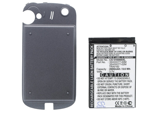 Audiovox PPC6800 PPC-6800 Replacement Battery