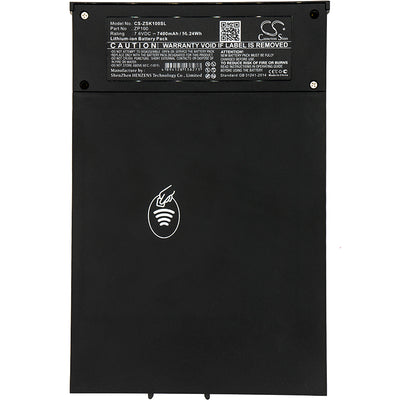 ZiOSK TTM-00536 TTM-50003 XOX-ZP100 ZP100 Replacement Battery