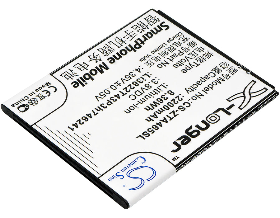 ZTE Blade A465 Blade A475 Blade L4 Pro Replacement Battery