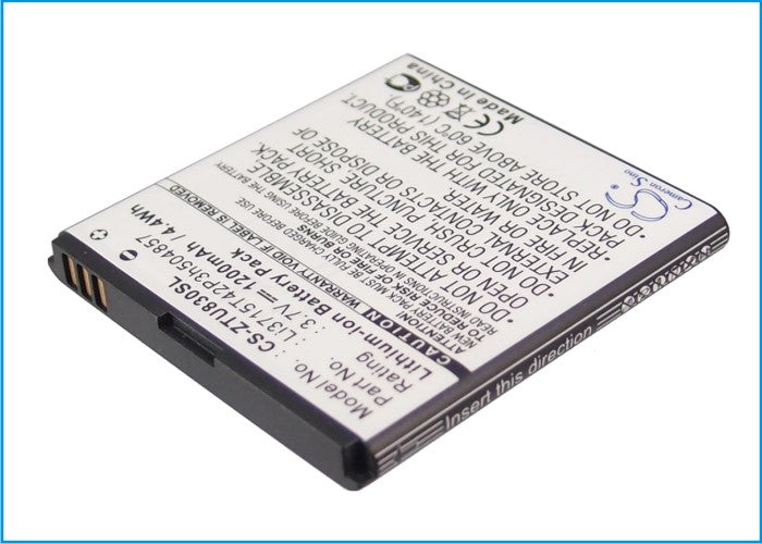 ZTE Blade C2 Blade C2 Plus Concord V768 G8 1200mAh Replacement Battery