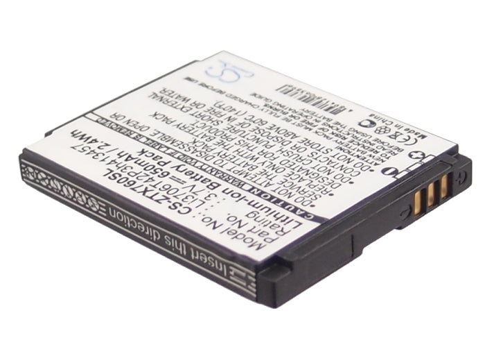 ZTE X760 X761 Vegas T-Mobile Vairy Touch Vodafone 125 225 Or Replacement Battery