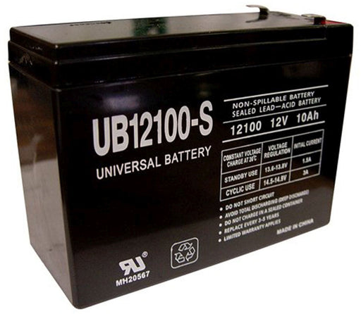 Leoch DJW12-10H 12V 10Ah Scooter Battery