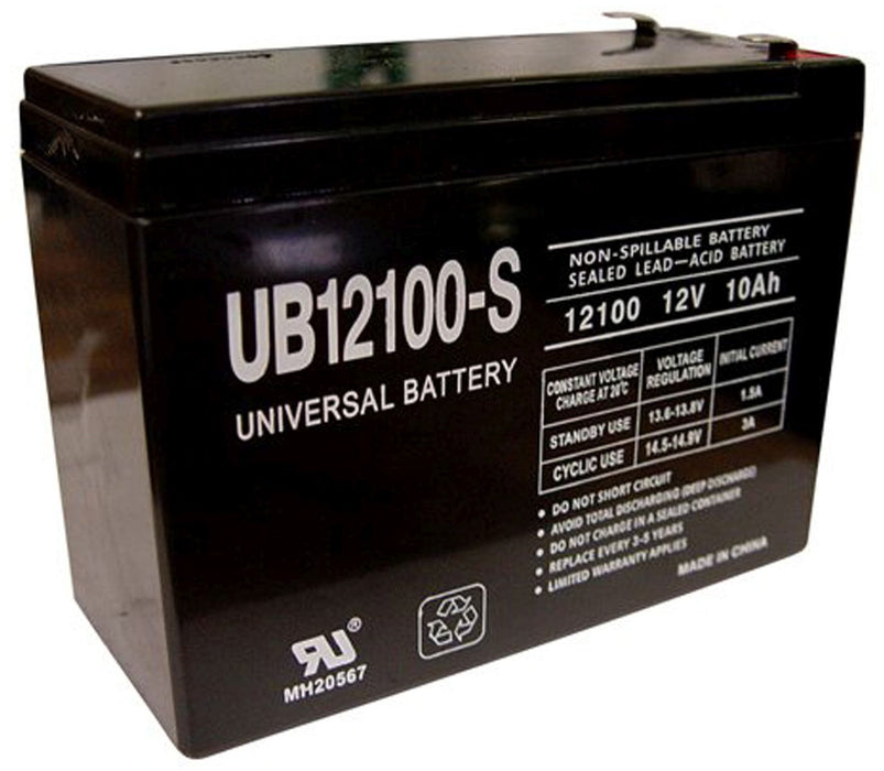 UPG 12V 10Ah Sealed Lead Acid - AGM - VRLA Battery - F2