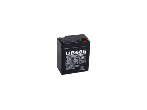 B&B BP8-6V 6V 8.5Ah UPS Battery ZZZ-D5735-B-0-119925 $28.19